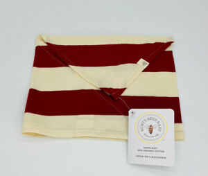 Burts Bees Baby Rugby Stripe Dog Bandana One Size New