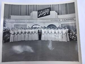 Schlitz Beer 1949 Anniversary Photos, Program Guide & Speeches Booklet