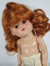 "CARROT DOLL WIG SIZE 5/6"" FITS VINTAGE GINNY, MUFFIE, GINGER, MA  #G11"