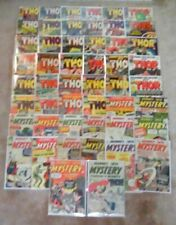 THOR JOURNEY INTO MYSTERY 50-issue lot 86-153 Marvel