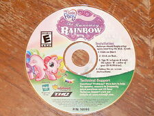 My Little Pony The Runaway Rainbow PC CD-ROM THQ 2006 game for Windows 98/Me/XP