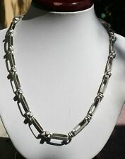 """Necklace, 3 beautiful designs(3), 18"""" long chain, stainless steel"""