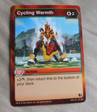 BAKUGAN Battle Brawlers Battle Planet CYCLING WARMTH ACTION Card 85_CO_BB