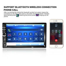 """2DIN 7"""" HD In Dash Car Vehicle Auto TouchScreen Bluetooth Stereo MP3 MP5 NEW"""