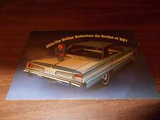 1966 Dodge Polara 4-Door Hardtop Advertising Postcard
