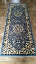 Traditional Persian Runner 330,000 Point  Area Rug Light Blue 603 2 Ft X7Ft2 In