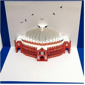 Forever  Cards Laser Pop Up Card  POP27 -  Royal Albert Hall