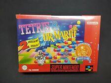Tetris & Dr Mario / super Nintendo SNES