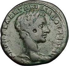 DIADUMENIAN son of MACRINUS 218AD Nicopolis ad istrum Tyche Roman Coin i50996