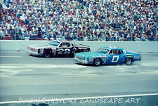 1979 8X10 PHOTO CHARLOTTE WORLD 600 #28 BUDDY BAKER SPECTRA CHEVY NASCAR RACING