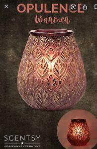 SCENTSY OPULENCE Wax Warmer  ✨ Full Size BOHO Eccentric Glass BEAUTIFUL COLORS