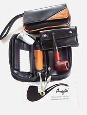 Angelo Pfeifentasche für 2 Pfeifen SET mit Reiniger Filter- Pfeife und mehr NEU!