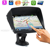 "XGODY 7""  HD Touch Screen 8GB GPS Auto Navigator Voice navigation With Sunshade"