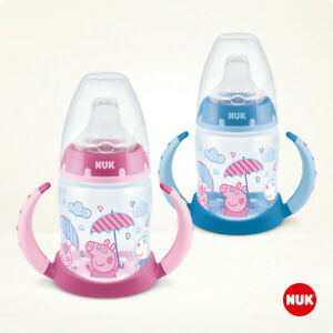 NUK Peppa Pig First Choice Trinklernflasche 150 ml mit Temperature Control