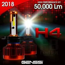 H4 HB2 9003 500W POWER 50000LM LED Headlight Kit High/Low Beam Bulbs White 6000K