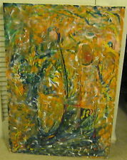 Portrait of The Artist at 63 Acrylic On Canvas ORIGINAL PAINTING by Seller!!!