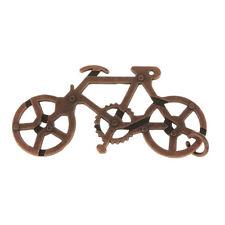 Metal Bike Maze Steel Puzzle Brain Teaser Decoded Toy w/Box Gift