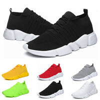 Men's Shoes Lightweight Running Tennis Athletic Walking Trainer Sport Sneakers