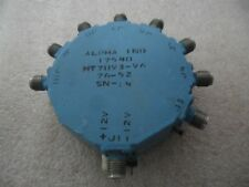 Alpha 8-way Coaxial Pin Diode Switch MT7893-96 Microwave RF Microwave SMA