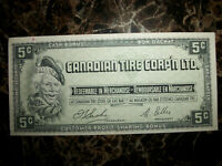 Canadian Tire Corp'n LTD. .05 Cent Cash Bonus Note.
