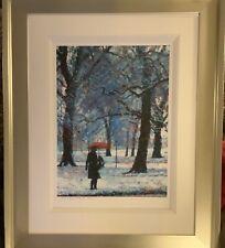 Rolf Harris The Red Umbrella RARE Ltd Ed Framed Print With COA