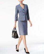 Le Suit Melange Skirt Suit Size 12 # P 198 MSRP$ 200