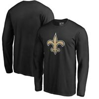 New Orleans Saints Logo Long Sleeve T -Shirt Football NFL Brees Thomas Champions