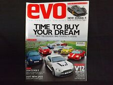 EVO MAGAZINE ISSUE 128 MARCH 2009. TIME TO BUY YOUR DREAM ISSUE. V12 VANTAGE.