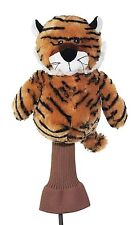 Tiger Golf Driver Woods Headcover 460cc Animal Mascot Novelty Unique Head Cover