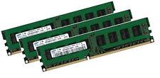 3x 4gb 12gb Samsung Memoria RAM DIMM ddr3 1600 MHz 240pin pc3-12800 pc12800