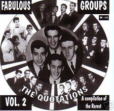 V.A. - FABULOUS GROUPS Vol. 2 - The Best of the Rare CD