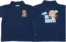 Pororo Animation Characters Cotton T-Shirt (Blue)