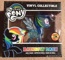 SDCC 2013 Funko My Little Pony Rainbow Dash Clear Glitter Exclusive Vinyl MLP
