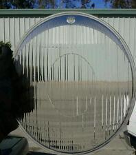 2 vw volkswagen bug oval window kafer hella head light glass flutted euro lens