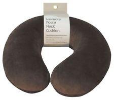 Aidapt Memory Foam Neck Cushion (colour Brown)