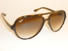 New RAY BAN Sunglasses CATS 5000  Tortoise  RB 4125 710/51 Gradient Brown Lenses