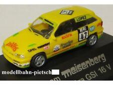 """Rietze 90104 Opel Astra GSI 16V ,Meisenberg""""  Startnr.47 ,DTT´93,1:87, neu , OVP"""