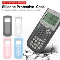 Soft Silicone Case Protective Cover For Texas Instruments TI-84 Plus Calculator