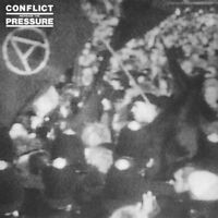 CONFLICT - INCREASE THE PRESSURE--Vinyl LP -Brand New-Still Sealed