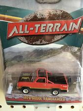 Greenlight All-Terrain  1978 Dodge Ramcharger.    Red & Black