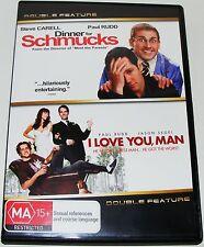 DINNER FOR SCHMUCKS / I LOVE YOU MAN---(Dvd Two Disc Set)
