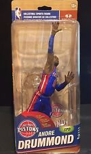 ANDRE DRUMMOND  McFarlane BLUE Jersey VARIANT GOLD NBA SP # 473/500 PISTONS New
