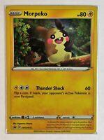 Pokemon TCG Card - Morpeko SWSH012 - Rare Holo Promo - Mint NM