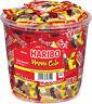Haribo Happy Cola Gummibärchen Weingummi Fruchtgummi 100 Minibeutel 980g Dose