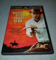 A MINUTE TO PRAY, A SECOND TO DIE***1968 [DVD *RARE oop