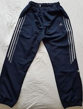 """adidas mens tracksuit bottoms, track pants, Navy, 3 grey stripes Size 32"""" AN3001"""