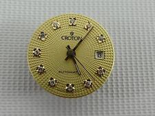 (Ref165CF) 2671 Antiguo Croton 25 joya movimiento automático Reloj De Señoras