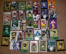 Lot of 33 Good Football Cards Rookie Jersey Signed Fitzgerald Aaron Rodgers