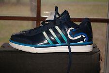 Men Adidas Shooting Star LT Basketball Blue White Sz 7