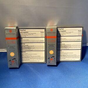 {E3} 2X NIB Erborian CC Cream Radiance Color Corrector w/ SPF 25 ~ Dore 5 ml